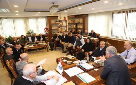 Of Belediye Meclisi 2020'nin ilk toplantısını yaptı