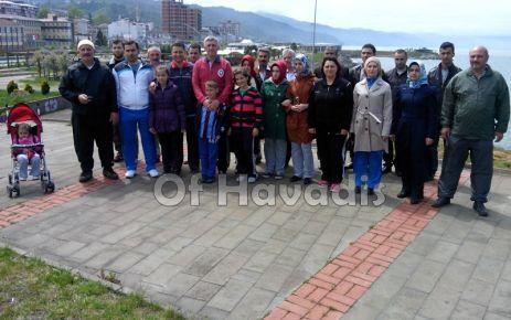 Of Belediyesi Sağlıklı Yaşam için yürüdü