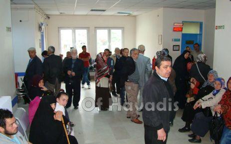 Of Devlet Hastanesi yetersiz kalıyor