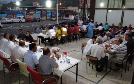 Of Devlet Hastanesi'nde iftar vakti