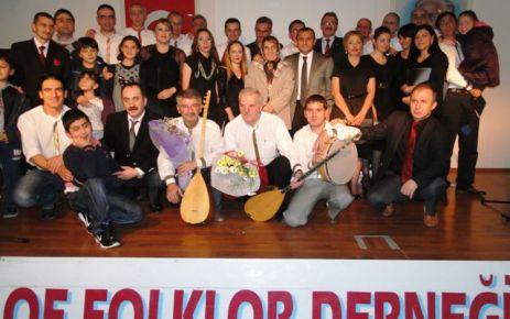 Of Folklor Derneği'nden Türkü Gecesi