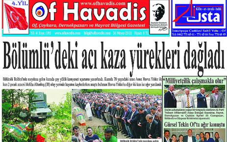 Of Havadis 193.Sayısı yayında