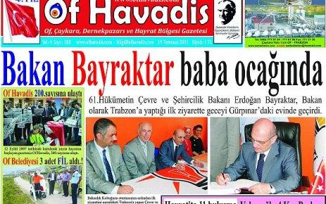 Of Havadis 200.sayı yayında