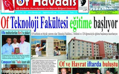 Of Havadis 205.sayı yayında