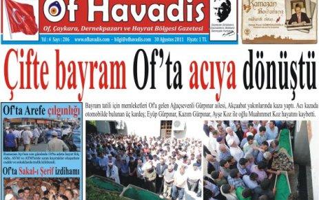 Of Havadis 206.sayı yayında