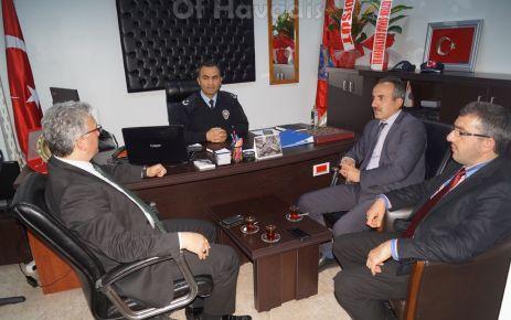 Of Havadis'ten Emniyet Müdürü Saçkan'a ziyaret