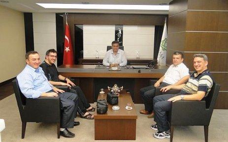 Of Havadis'ten Meram Belediye Başkanına ziyaret