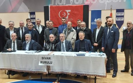 Of Hayrat'ta Mustafa Saral yeniden başkan