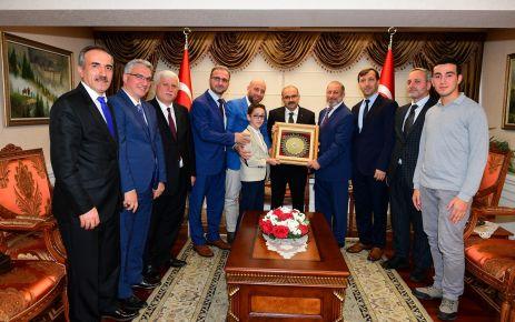 Of İMDER'den Vali Ustaoğlu'na ziyaret