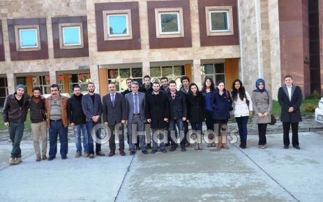 Of Medya Derneği yöneticileri üniversitelilerle buluştu
