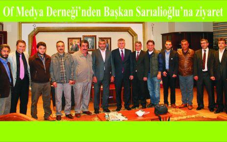Of Medya Derneği'nden Arslan ve Sarıalioğlu'na ziyaret