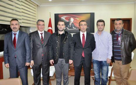 Of Medya Derneği'nden Kaymakam Arslan'a ziyaret
