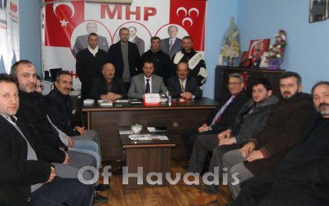 Of Medya Derneği'nden MHP'ye ziyaret