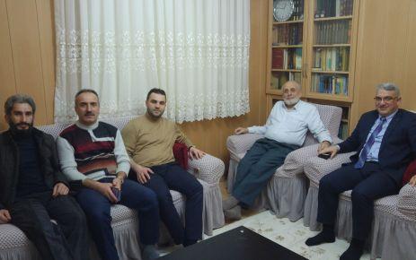 Of Medya Derneğinden Vahapoğlu'na geçmiş olsun ziyareti