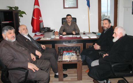 Of Saadet'ten Jandarma ve Nüfusa ziyaret