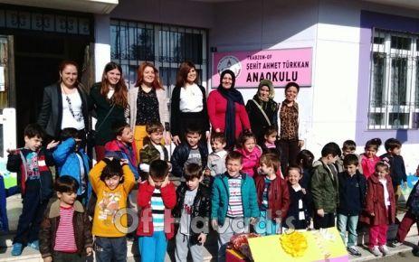 Of ŞAT Anaokulu öğrencilerinden kardeş okul ziyareti