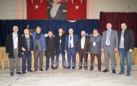 Of Şoförler Odası Başkanlığına Şahmeran Er yeniden seçildi