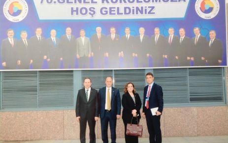 OF TSO yönetimi TOBB'un kongresinde