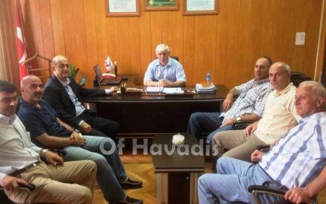 OF TSO'dan Kabahasanoğlu ve Türköz'e ziyaret