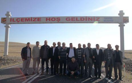 OFGİAD üyeleri kurbanlarını Karayazı'da kesti