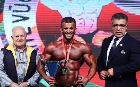 Oflu Cüneyt Şişman Türkiye Şampiyonu
