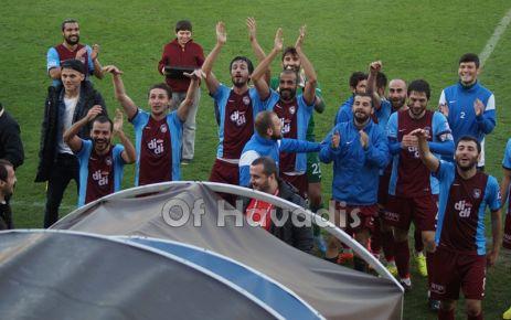 Ofspor 1461 Trabzon'la hayata döndü