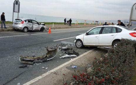 Ofspor As Başkanı Hacıahmetoğlu kaza yaptı