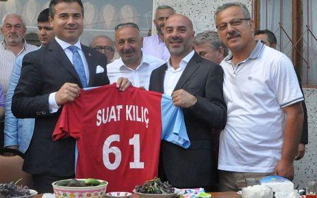Ofspor Başkanı Saral'dan Bakan Kılıç'a Ofspor forması