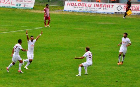 Ofspor ve Bugsaşspor'un gol düellosu beraberlikle bitti