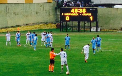 Ofspor deplasmanda Fatih Karagümrükspor'u mağlup etti