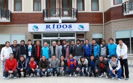 Ofspor Diyarbakır maçına RİDOS'ta hazırlandı
