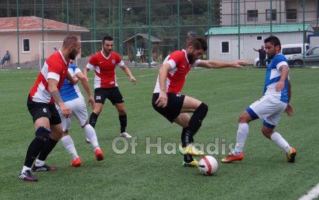 Ofspor ile Düzyurtspor hazırlık maçında buluştu