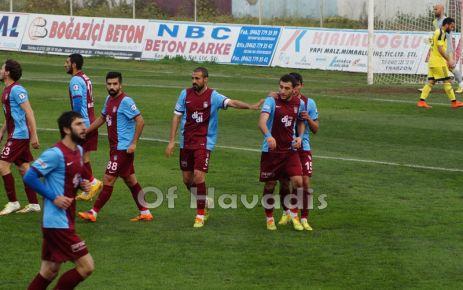 Ofspor ilk yarıyı Tarsus galibiyetiyle tamamladı
