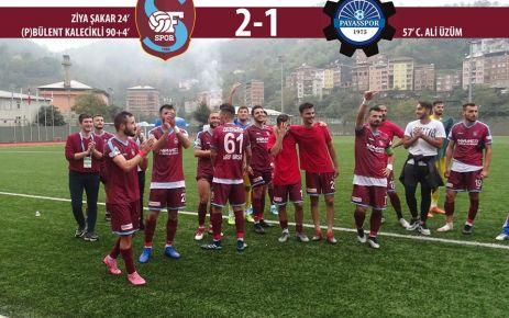 Ofspor Payasspor'u 90+3'te geçti