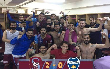 Ofspor Sultanbeyli Belediyespor'u 2-0 yendi
