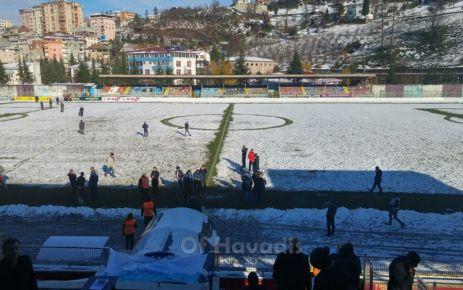 Ofspor Zonguldak Kömürspor maçı ertelendi