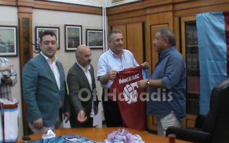 Ofspor'dan onursal Başkan Yılmaz'a ziyaret