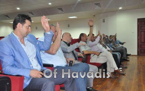 Ofspor'un yeni yönetimi belirlendi