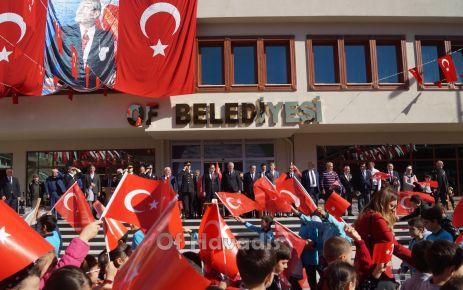 Of'ta Cumhuriyet Bayramı coşkusu