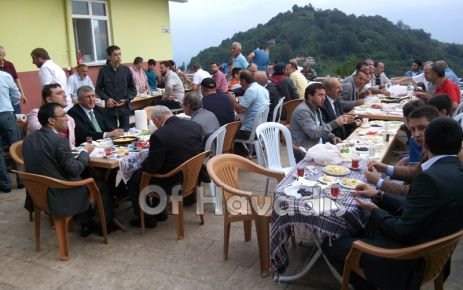 Of'ta Ramazan Bayramı coşkuyla kutlandı