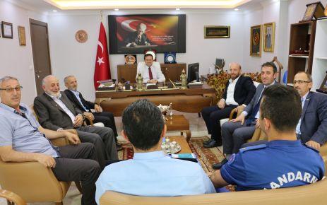 Of'ta seçim güvenlik toplantısı yapıldı