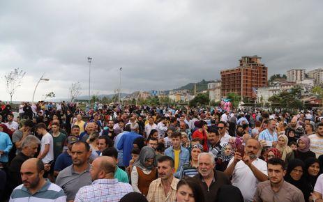 Of'ta Solo Türk heyecanı yaşandı