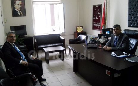 Of'un yeni Emniyet Müdürü Gökhan Orkun Şenel göreve başladı