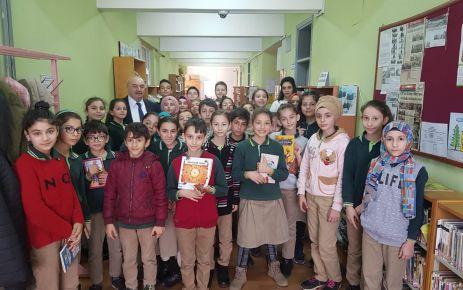 Öğrenciler okuma etkinliğinde buluştu