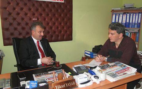 Oktay Saral'dan Of Havadis'e ziyaret