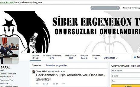 Oktay Saral'ın twitter hesabı hacklendi