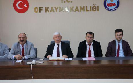 Okul ve kurum müdürleri istişare toplantısında buluştu