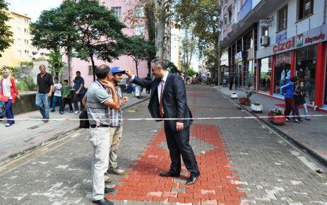 Okullar Caddesi yenilendi, öğrenciler mutlu oldu
