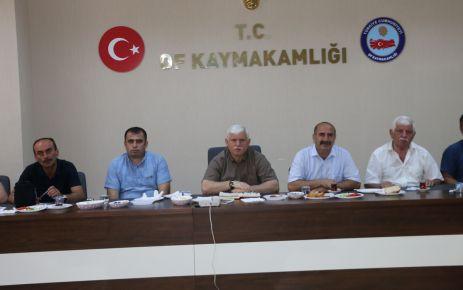 Okullar tatilde, müdürler istişare toplantısında