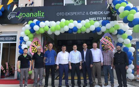 Oto Ekspertiz & Check Up merkezi Oto Analiz'in açılışı yapıldı